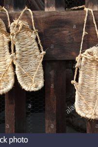 Giày Waraji - Giày Cỏ Nhật Bản