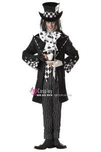 Trang Phục Halloween Người Làm Mũ Mad Hatter Trong Alice In Wonderland