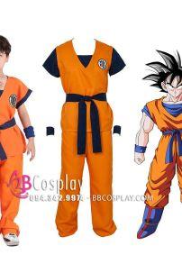 Trang Phục Son Goku 7 Viên Ngọc Rồng Cho Bé