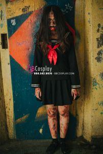 Trang Phục Ma Nữ Sinh Kiểu Nhật Cho Halloween