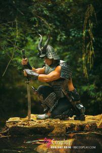 Trang Phục Samurai Giáp Chiến Binh Nhật Bản