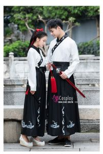 Hán Phục Cổ Trang Trung Quốc Váy Thêu
