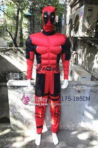 Bộ Trang Phục Deadpool Độn Cơ Bắp