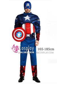Đồ Captain America Độn Cơ Bắp