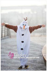 Trang Phục Người Tuyết OLAF - Frozen