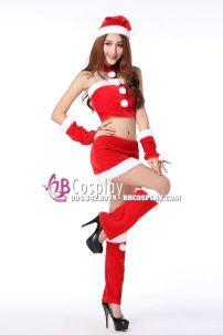 Bộ Trang Phục Noel Sexy Gợi Cảm 9 Chi Tiết