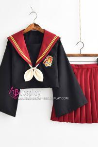 Trang Phục Nữ Sinh Cosplay Nhà Gryffindor - Harry Potter