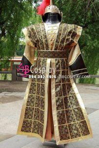 Cổ Trang Tướng Võ Nhà Tống Màu Vàng