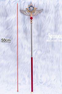 Gậy Phép Thuật Mộng Trượng Sakura Màu Đỏ