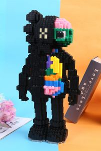 Mô Hình Lego Nano HC Magic Kaws Black