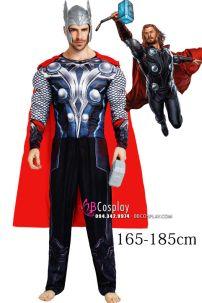 Trang Phục Thor Avenger - Thần Sấm Có Cơ Bắp In 3D