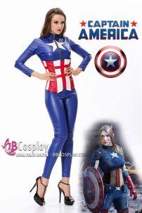 Đồ Captain American Nữ