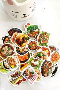 Bộ Sticker Trang Phục Ăn