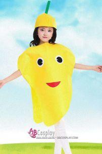 Trang Phục Hóa Trang Trái Cây Cho Bé