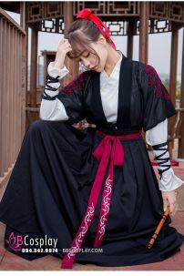 Hán Phục Nữ Võ Hiệp