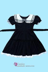 Lolita Đen Hàng May Vải Dày Xịn Bền Đẹp Rẻ