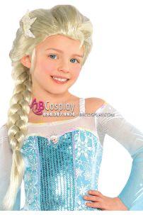 Tóc Giả Công Chúa Elsa Trẻ Em