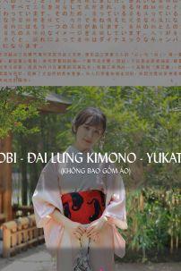 Đai Lưng Kimono Nhật Đỏ Mèo