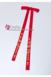 Dây Cột Tóc Cổ Trang Hoa Mai - Màu Đỏ