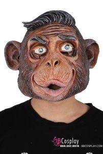 Mặt Nạ Hóa Trang Halloween - Mẫu Khỉ