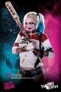 Gậy Bóng Chày Harley Quinn 80cm