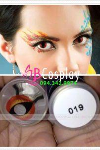 Lens Cosplay 019 (Lit Pupils Dragon Eyes Devil Crazy)