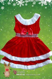 Đầm Giáng Sinh Cho Trẻ Em