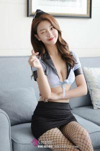 Nữ Tiếp Viên Sexy Váy Đen