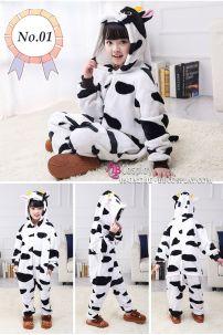 Trang Phục Thú Giá Rẻ Con Bò Sữa Loại Xịn