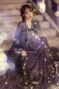 Hán Phục Ảo Lân Lưu Sa - Váy Xoè 6m
