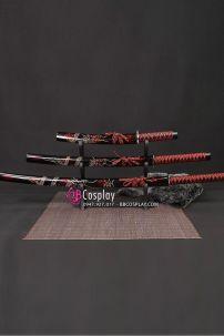 Bộ 3 Kiếm Nhật Samurai Trạm Khắc Rồng Tinh Xảo