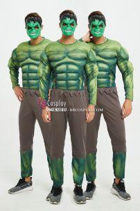 Trang Phục Người Khổng Lồ Xanh Hulk Cơ Bắp