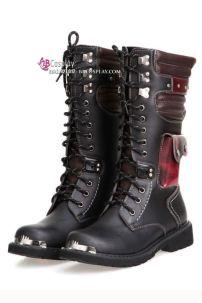 Giày Boot Nam Châu Âu Cổ Cao