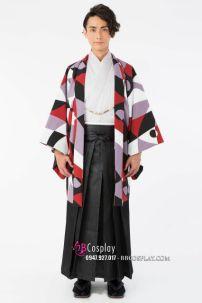 Kimono Nam Chuẩn Nhật Kèm Haori