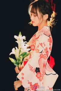 Yukata Mẫu Đơn