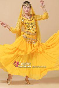 Đồ Cô Dâu Ấn Độ Vàng
