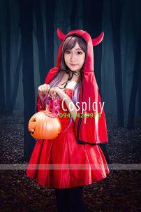 Đồ Cô Bé Quàng Khăn Đỏ 1 (Halloween)