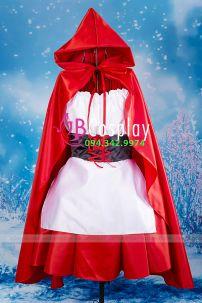 Trang Phục Noel 10 (cô Bé Quàng Khăn Đỏ)