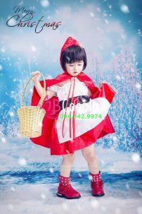 Đồ Cô Bé Quàng Khăn Đỏ Trẻ Em 1