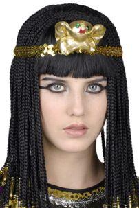 Tóc Giả Nữ Hoàng Ai Cập Nhiều Sợi
