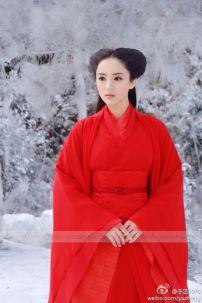 Trang Phục Cổ Trang Lâm Triều Anh Phim Thần Điêu Đại Hiệp 2014