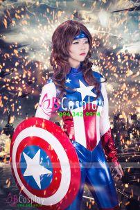 Đồ Captain American Nữ 2