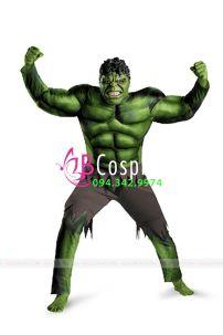Đồ Hulk Cơ Bắp - Người Khổng Lồ Xanh
