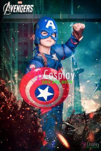 Đồ Captain American 2 (Trẻ Em)