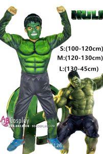 Trang Phục Hulk Người Khổng Lồ Xanh Trẻ Em