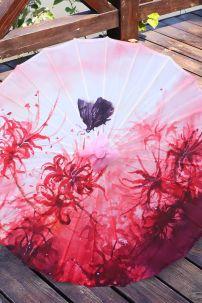Ô Cổ Trang Vải In Hoa Bỉ Ngạn (1)