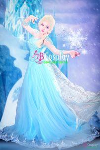 Đầm Dạ Hội Elsa Nữ Hoàng Băng Giá