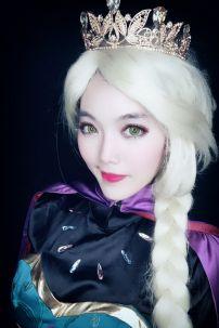 Tóc Elsa - Trang Phục Elsa
