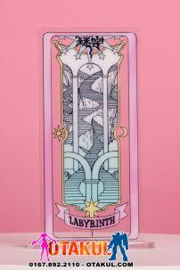 Thẻ Bài LABYRINTH - Clear Cards