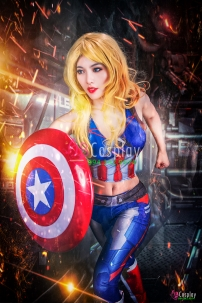 Đồ Captain American Nữ 3